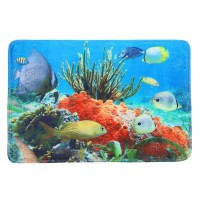 Коврик для ванной комнаты 50х80см Print Коралловый риф БИ569 512271 - Интернет-магазин «Строительный двор Морозов»