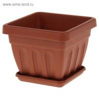 Горшок ИРИС 1,1л пластиковый *1/200 - Интернет-магазин «Строительный двор Морозов»