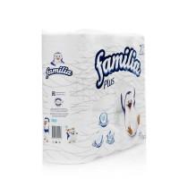 Туалетная бумага FAMILIA 2х слойная белая 4 шт 000211 - Интернет-магазин «Строительный двор Морозов»