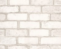 Обои винил на бумажной основе 0,53х10м В49.4 5522-06 Кирпич лофт белый Славянские - Интернет-магазин «Строительный двор Морозов»