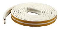 Уплотнитель CYCLONE P100 белый 9х5,5мм ТЕГРА *1/6 533124 ЯК60 - Интернет-магазин «Строительный двор Морозов»