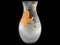 Ваза для цветов ПЛОМЕНЬ белая 25см W14 848701 - Интернет-магазин «Строительный двор Морозов»