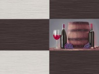 Обои винил на бумажной основе 0,53х10м В49.4 5548-10 Брют белый-кофе красн вино Славянские - Интернет-магазин «Строительный двор Морозов»