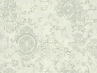 Обои винил на флизелин основе 1,06х10м В118 8546-04 Рококо медальон мятный Славянские - Интернет-магазин «Строительный двор Морозов»