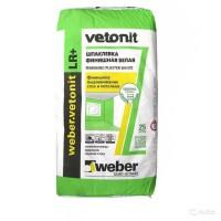 ВЕТОНИТ Шпаклевка VETONIT WEBER LR +  5,0 кг *1 - Интернет-магазин «Строительный двор Морозов»