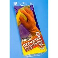 ВОЛШЕБНИЦА Лотос Перчатки латексные с хлопковым напылением р-р М 57529 204003 - Интернет-магазин «Строительный двор Морозов»