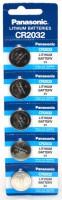 Батарейка Panasonic CR2032 BL5 357 - Интернет-магазин «Строительный двор Морозов»