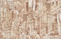 Обои бумажные 0,53х10м С16 БР Грант Города-2 Брянск - Интернет-магазин «Строительный двор Морозов»