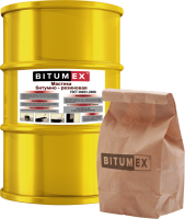 Мастика битумно-резиновая BITUMEX 18кг 000018 - Интернет-магазин «Строительный двор Морозов»