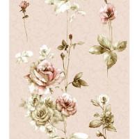 Обои бумажные 0,53х10м С6М Д483-03 Салют розовый Саратовские - Интернет-магазин «Строительный двор Морозов»