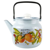 Чайник эмалир. 3,5л С-2713П2/4Р4 073896 - Интернет-магазин «Строительный двор Морозов»