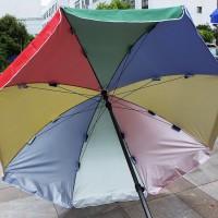 Зонт пляжный большой на колышке - Интернет-магазин «Строительный двор Морозов»