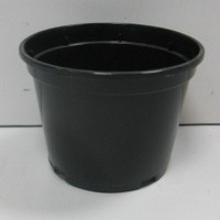 Горшок для рассады 0,67л круглый черный 220307 - Интернет-магазин «Строительный двор Морозов»