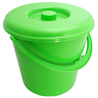 Ведро 14л пластик для пищевых продуктов  АЛЕАНА  - Интернет-магазин «Строительный двор Морозов»