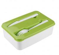 Контейнер для продуктов (для обеда с вилкой+нож) 227х155х70мм М5552 АУ61 - Интернет-магазин «Строительный двор Морозов»