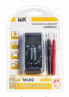IEK мультиметр карманный Compact M182 AC/DC/R TMD-1S-182 514543 - Интернет-магазин «Строительный двор Морозов»