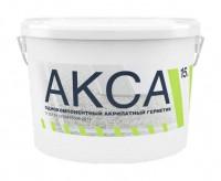 Герметик АКСА белый 15кг акриловый однокомпонентный для межпанельных швов 931345 - Интернет-магазин «Строительный двор Морозов»