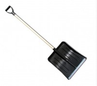 Лопата снегоуборочная 430х450мм Метелица с черенком ЗИ-00387 - Интернет-магазин «Строительный двор Морозов»