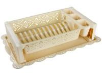 Сушилка для посуды Кружево бежевый М6284 - Интернет-магазин «Строительный двор Морозов»