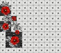 Ламинат 3D ПВХ Алые маки (Добор) 1800х187х4мм (8шт/уп) 014854 - Интернет-магазин «Строительный двор Морозов»