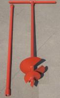 Бур садовый ф100мм с твердосплавными пластинами  БРШ-100 L1000мм - Интернет-магазин «Строительный двор Морозов»