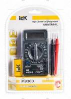 IEK Мультиметр цифровой Universal M830B TMD-2B-830 514540 - Интернет-магазин «Строительный двор Морозов»