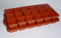 Ящик для рассады со стаканами 0,25л 18шт круглые 300825 - Интернет-магазин «Строительный двор Морозов»