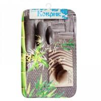 Коврик для ванной комнаты 50х80см Print Камни Дзен БИ568 512264 - Интернет-магазин «Строительный двор Морозов»