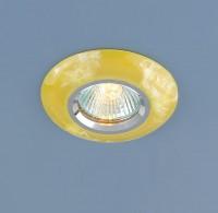 ЕС Встраиваемый светильник ElektroStandard 6061 Желтый 60мм - Интернет-магазин «Строительный двор Морозов»