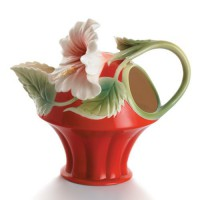 Горшок цветочный ФИГУРНЫЙ ВИНТАЖ керамический с блюдцем ф09мм DP1709K - Интернет-магазин «Строительный двор Морозов»