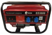 Генератор бензиновый EDON ED 3000 2,5кВт 220В/12В расход 1,3л/ч 39кг УТ-000000458 205040 - Интернет-магазин «Строительный двор Морозов»