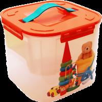 Контейнер для игрушек 7,0л Игрушки М2824 М-Пластика АЖ669 593159 - Интернет-магазин «Строительный двор Морозов»