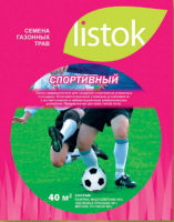 Газон LISTOK спортивный 15,0 кг 550 м2 - Интернет-магазин «Строительный двор Морозов»
