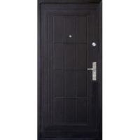 Дверь метал. Модель 42 860х2050 Левая 1 замок техническая с цилиндром  - Интернет-магазин «Строительный двор Морозов»