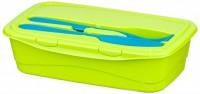 Контейнер для продуктов (для обеда со стол прибор) 1,0л М1235 М-ПЛАСТИКА АС171 - Интернет-магазин «Строительный двор Морозов»