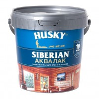 HUSKY SIBERIAN Аквалак 9,0л 26240 025892 - Интернет-магазин «Строительный двор Морозов»