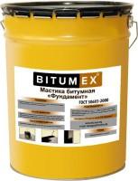 Мастика битумная BITUMEX Фундамент 18кг 000201 - Интернет-магазин «Строительный двор Морозов»
