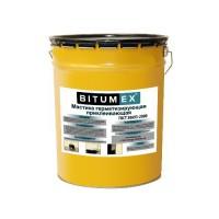 Мастика герметизирующая и приклеивающая BITUMEX 18кг 000034 - Интернет-магазин «Строительный двор Морозов»