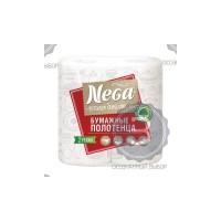 Полотенце бумажное НЕГА белые 2х слойные уп.2шт 000250 - Интернет-магазин «Строительный двор Морозов»