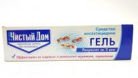 ЧИСТЫЙ ДОМ Гель от тараканов и муравьев 20г шприц-дозатор 451113 - Интернет-магазин «Строительный двор Морозов»