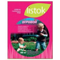 Газон LISTOK игровой 1,0 кг 40 м2 511606 - Интернет-магазин «Строительный двор Морозов»