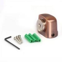 АПЕКС Упор дверной DS-2751-M магнитный Напольный - Интернет-магазин «Строительный двор Морозов»