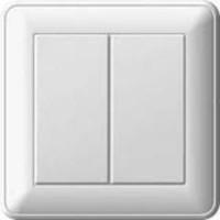 Выключатель 2кл о/у 6А белый - Интернет-магазин «Строительный двор Морозов»