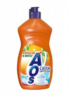 АОС Средство для мытья посуды AOS Лимон 500г 30797 012305 - Интернет-магазин «Строительный двор Морозов»