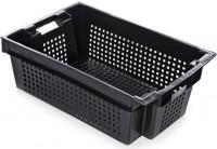 Ящик для овощей пластм. 600х400х200мм темный ПЛАСТОС ЕКТ ДЭ24 - Интернет-магазин «Строительный двор Морозов»