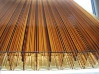 Поликарбонат NOVATTRO 6мм 2,1х12 метров Бронза (0,75 кгм2) - Интернет-магазин «Строительный двор Морозов»